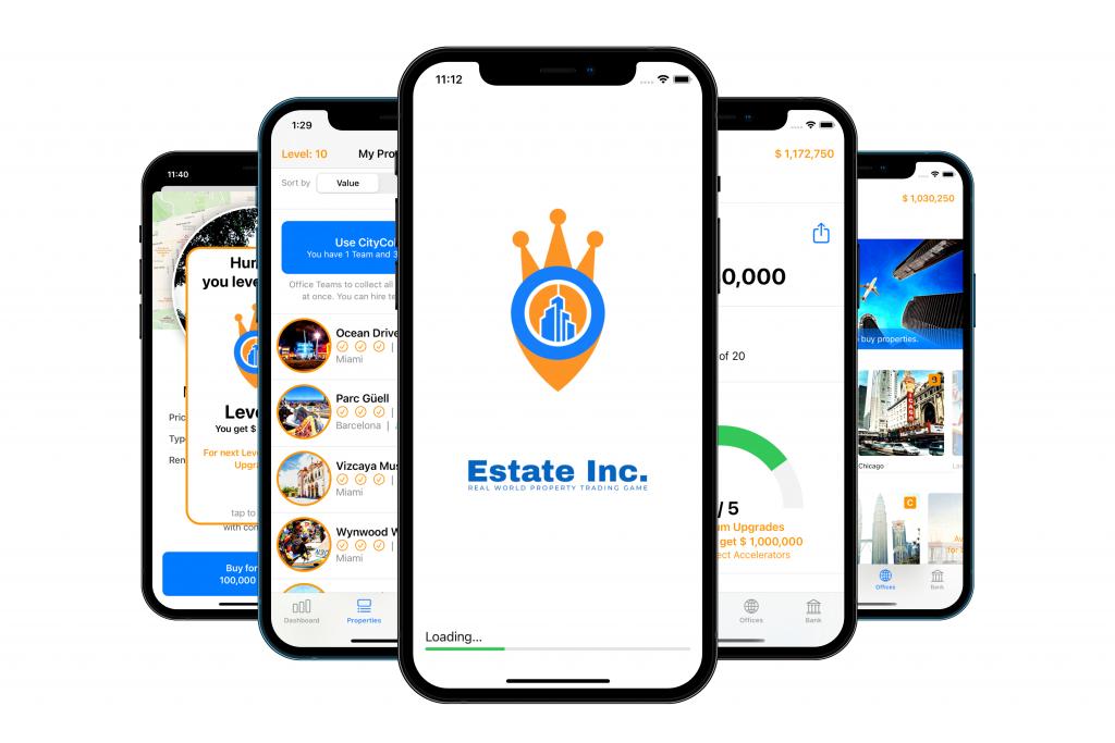 Estate Inc app game